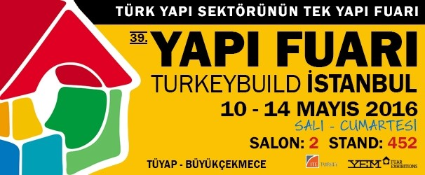 39th TURKEYBUILD Construction Fair 2016